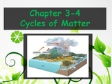 Biology - (3.4 Cycles of Matter Powerpoint and Guided Notes)