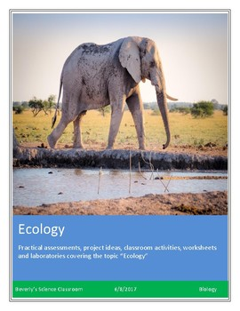 Biology! Ecology: Worksheets and Laboratories!