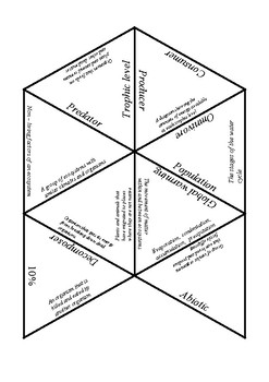 Biology: Ecosystem tarsia