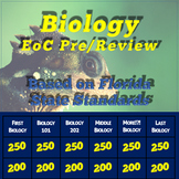 Biology End Of Course Exam Review Jeopardy Style Game FL S
