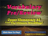 Essential Vocabulary Review Quiz Game - Dynamically Programmed Unlimited Replay!