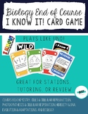 Biology End of Course Card Game - Great review for ANY State!
