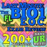 Biology End of Course Exam Review 175+ questions - Florida Standards