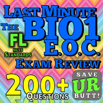 Biology End of Course Exam Review 175+ questions - Florida ...