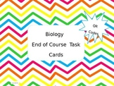 Biology End of Course Task Cards with QR Codes!
