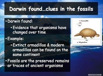 Biology - Evolution (16.1 Darwin's Theory Powerpoint and Guided Notes)