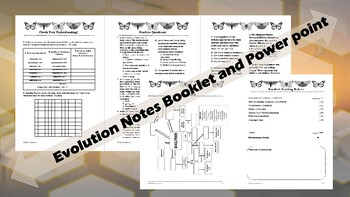 Biology: Evolution Powerpoint & Student Booket