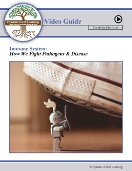 Human  Defense System  Against Pathogens - Biology Video Worksheet
