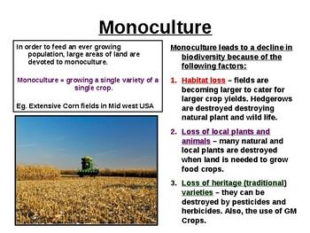 Biology - Factors affecting biodiversity & Conservation
