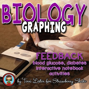 Biology GRAPHING Practice: FEEDBACK diabetes insulin + more w Common Core