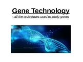 Biology - Gene Technology.