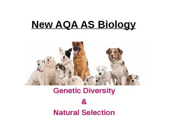 Biology - Genetic Diversity & Natural Selection.