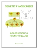 GENETICS: INTRODUCTION TO PUNNETT SQUARES