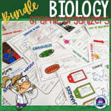 Biology and Life Sciences Graphic Organizers Bundle