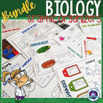 Biology Graphic Organizers Growing Bundle