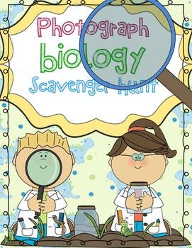 Photograph Biology Scavenger Hunt