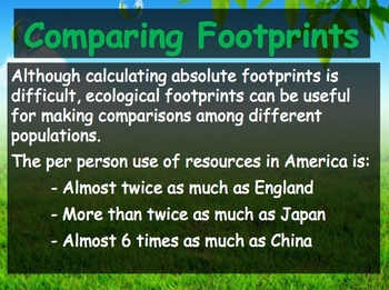 Biology - Human Impacts (6.4 Meeting Ecological Need PPT and Guided Notes)