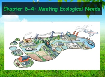 Biology - Human Impacts (6.4 Meeting Ecological Need PPT a