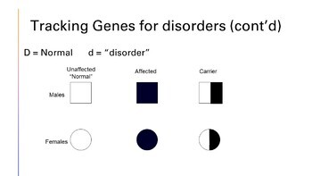 Biology I: Genetics, Human Heredity, Karyotyping, & Pedigree Presentation