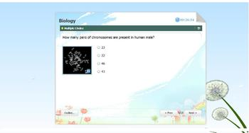 Biology Interactive Flash Quiz (Molecular Biology, Cell Division)