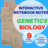 Biology Interactive Notebook - Genetics Notes