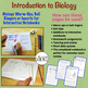 Biology Warm Ups, Bell Ringers or INB Pages: Introduction to Biology Unit