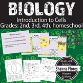 Biology: Introduction to Cells - Plant and Animal Cells, 2nd, 3rd, 4th grade