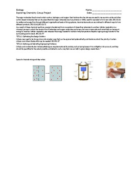 Biology - Investigation of Bio Chemistry Group Project