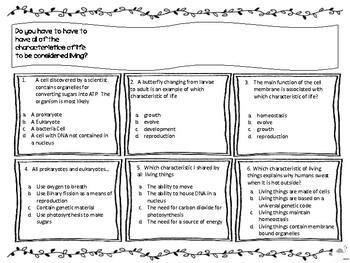 Biology Keystone Exam Review - Basic Biological Principles