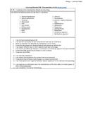 Biology LS - 1B Characteristics of Life