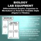 Biology Lab Equipment Graphic Organizer Foldable for INB