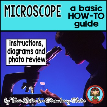 Biology Lab MICROSCOPE HOW TO with PHOTOS differentiated reading and worksheets