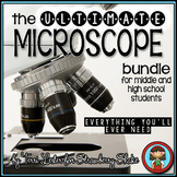 Biology Lab MICROSCOPE Teacher Guide Student Packet 33% off BUNDLE