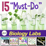 Biology Lab Bundle:  15 Must-Do Labs