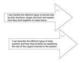Biology Learning Targets Taxonomy