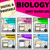 Biology Life Science Curriculum Bundle | Distance Learning