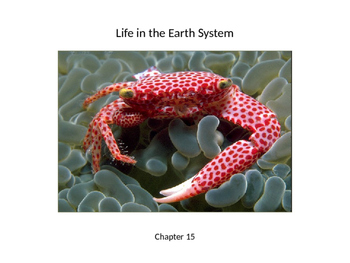 Biology - Life in the Earth System