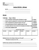 Genetics - Mitosis Worksheet