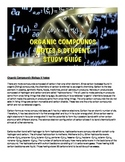 Biology Organic Compounds Lecture notes and Student Study Guide