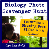 Biology Photo Scavenger Hunt for Middle and High School Sc