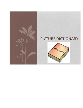 Biology Picture Dictionary