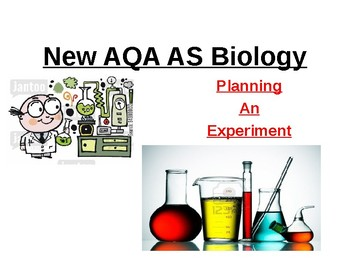 Biology - Planning and Evaluating Experiments.
