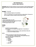 Biology:  Plant Classification Lesson Plan with Lab