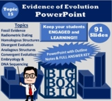 Biology PowerPoint Notes: Natural Selection, Darwin, and Evidence of Evolution