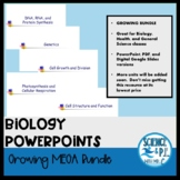 Biology PowerPoints: MEGA Growing Bundle