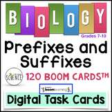 Biology Prefixes and Suffixes Boom Cards™