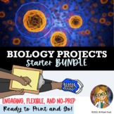 Biology Projects for the Year - BUNDLE   Distance Learning