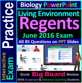 Biology Regents PowerPoint Spectacular - June 2016 Living Environment Exam