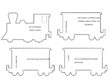 Biology Review Train Game/Puzzle