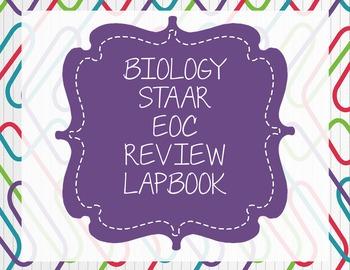 Biology STAAR Review LapBook